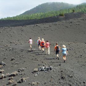 Hicking in Teide National park