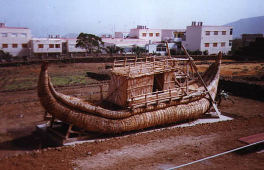 The replica of Ra II