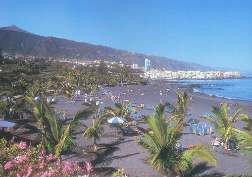 Beach photos tenerife guide for Aparthotel jardin de playa